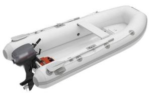 Small Rib Inflatable Boat 3m Fishing Firberglass Boat pictures & photos