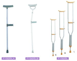 Aluminum Under Arm Crutch with Height Adjustment pictures & photos