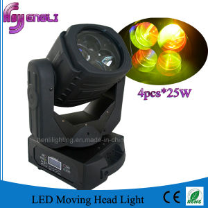 4PCS*25W LED Moving Head Light for Stage Disco DJ (HL-019BM) pictures & photos