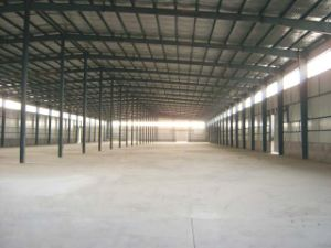 Steel Industrial Structure Building (NTSSB-007)