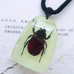 New Fashion Necklace--Insect Necklace-Rhinoceros Beetle