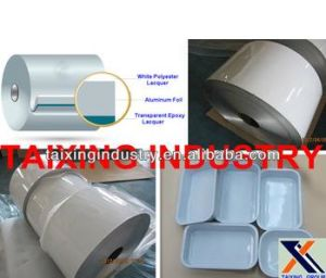 8011 Coated Aluminum Foil for Food Container