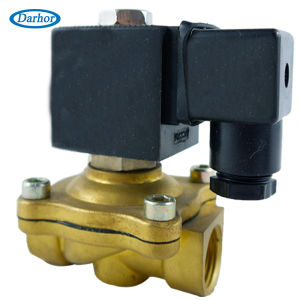 2 Way Brass Normally Closed Water Solenoid Valve