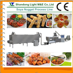 High Speed Extruded Textured Soya Nugget Processing Line pictures & photos