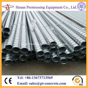 Prestressed Galvanized Corrugated Metal Duct Post-Tensioning System pictures & photos