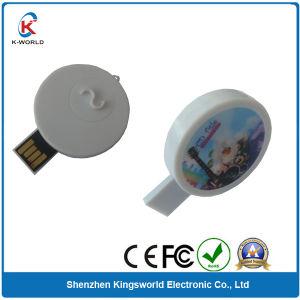 Dustproof Mini Round Plastic USB Memory Stick pictures & photos