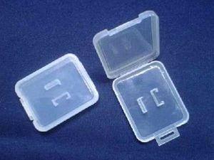 Foldable Plastic Memory Card Case