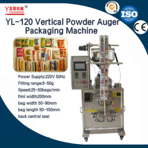 Automatic Sachet and Pouch Vertical Powder Bag Filling and Packaging Machine 10g 20g 100g pictures & photos