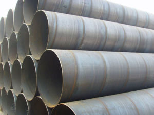 Spiral Steel Pipe with Oil, Spiral Pipe pictures & photos