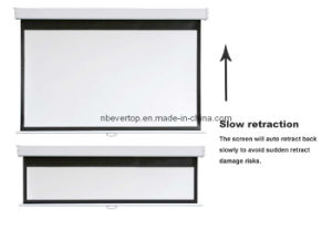Slow Retract Manual Projection Screen (MSR Series)