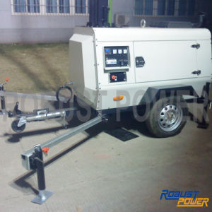Portable Movable Lower Depletion Mobile Lighting Tower pictures & photos