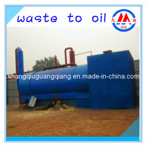 Waste Tyre Into Oil Pyrolysis Plant