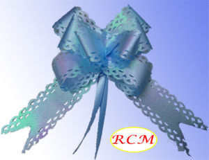 Blue Rainbow Pull Bow