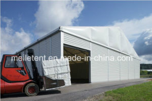 300m2 Large Warehouse Tent/Temporary Storage Tent with Roller Shutter Door pictures & photos