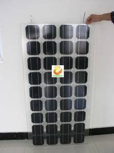 70W BIPV Double Glass Solar Panel pictures & photos