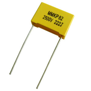 Double Sized Metallized Polypropylene Film Capacitor (MMKP82)