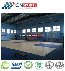 Safety Rubber Sports Flooring for Gymnasium/Playground Surface pictures & photos