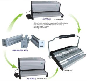 Multifunction Binding Machine (YD-700P) of A4 Size pictures & photos