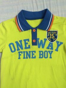 Wholesale Boy Polo Shirt in Children′s Wear Sq-6266 pictures & photos