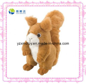 Plush Squirrel Singing Soft Toy (XMD-0055C) pictures & photos