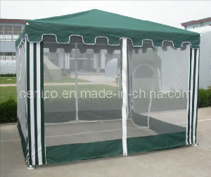 Backyard Gazebo with Screen Sidewall pictures & photos