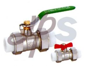 Brass PPR Ball Valves with Nickel Surface pictures & photos