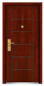 Luxury MDF Security Door (FXGM-C304) pictures & photos