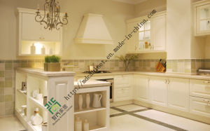 Modern Design High Quality PVC Kitchen Cabinet (zs-262) pictures & photos