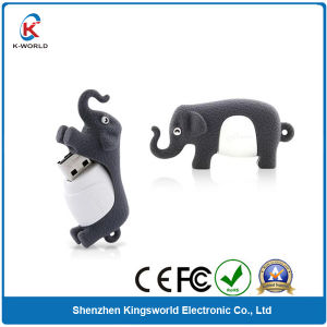 Promotion PVC Animal Elephant USB Stick pictures & photos