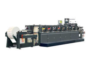 Paper Cup, Milk Box Printing Flexo Press Yc1200