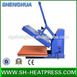 Best Seller Manual 15X15 T Shirt Heat Press Machine for Sublimation Transfer Printing pictures & photos