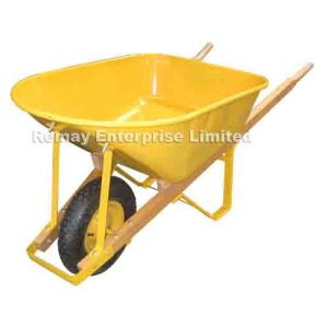 Wood Handle Wheelbarrow  (WH7600A) pictures & photos