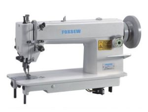 Top and Bottom Feed Lockstitch Sewing Machine pictures & photos