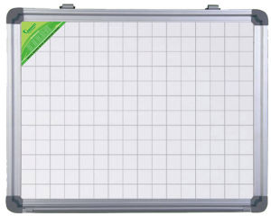 Single Side Magnetic Whiteboard with Aluminum Frame