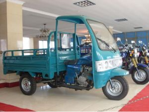 150cc 200cc Cargo Tricycle with Cabin Air Cooled