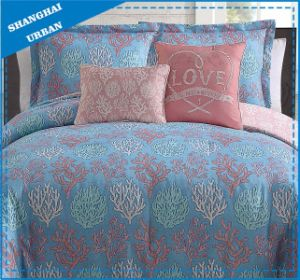 Coral Theme Cotton Printed Duvet Cover Bed Linen pictures & photos
