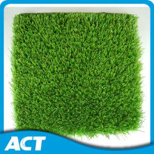 High Dense Artificial Grass Garden Commercial Place Good Drainage Base pictures & photos