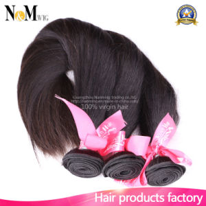 Queen Beauty Hair Product 7A Straight Human Brazilian Virgin Hair pictures & photos