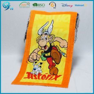 Custom Logo Printed Beach Towel pictures & photos