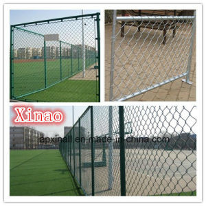 Chain Link Fencing PVC Coated and Galvanized Coated (XA-420) pictures & photos