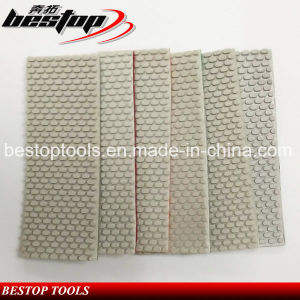 Bestop Top Quality Resin Polishing Hand Pad for Stone pictures & photos