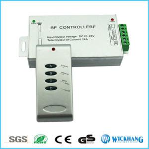 LED RGB Controller RF 4key 24A DC12-24V Aluminum for 5050 LED RGB Strip pictures & photos