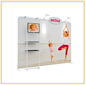 Exhibition Display Wall with Screen Display Rack (10FT) pictures & photos