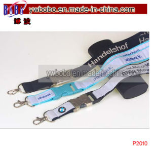 Custom Polyester Lanyards for Promotion Gifts (P2010) pictures & photos
