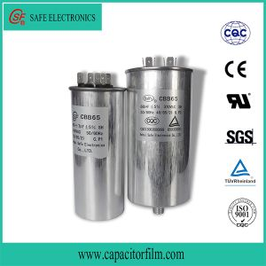 Cbb65 AC Motor Metallized Film Capacitor for Air Compressor pictures & photos