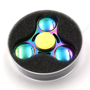 Shiny Rainbow UFO Metal Fidget Spinners pictures & photos