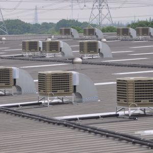 Industrial Cooling System Side Discharge Roof Mounted Evaporative Air Cooler pictures & photos