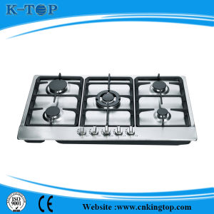 Best Quality Built-in 5 Burner S/S Gas Hob, Gas Cooker pictures & photos