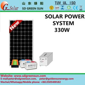 330W Solar Power Supply for Home Use pictures & photos