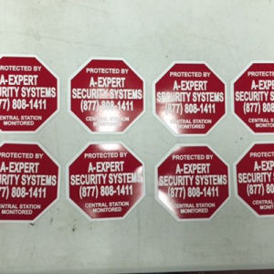 Customized Design High Visibility Reflective Sticker Decals pictures & photos